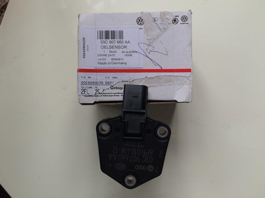 奥迪q7q5a8a7a5机油油位传感器